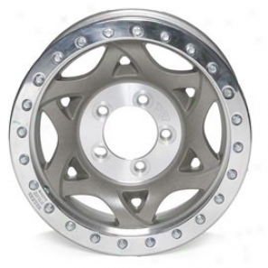 """walker Evans 17x8.5"""" Street Racing Wheel Nonpolished - 5x5 Bolt Pattern Back Spacing 4 1/4"""""""