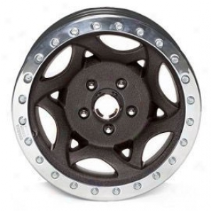 """walker Evans 17x8.4"""" Street Racing Wheeo Wrinkled Black - 5x4.5 Bolt Pattern Back Spacing 4 3/4"""""""