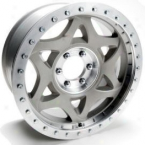"""walker Evans 20x8.5"""" Beadlock Racing Wheel Non-polished - 5x4.5 Bolt Pattern Back Spacing 5"""""""