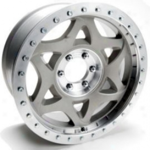 """walkerE vans 20x8.5"""" Beadlock Racing Wheel Non-polished - 5x5 Bolt Patgern Back Spacing 5.25"""""""