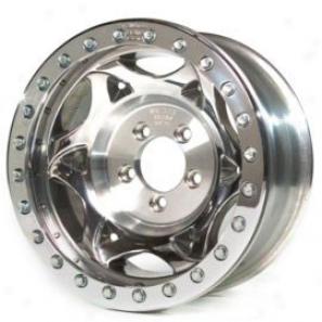"""walker Evans 20x8.5"""" Street Racing Wheel Polished - 5x5.5 Bolt Pattern Back Spacing 5"""""""