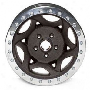 """walker Evans 20x8.5"""" Street Racing Wheel Rugose Black - 5x5.5 Bolt Figure Back Spacing 5"""""""