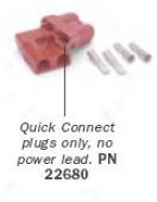 Warn Quick Connect Plugs For 2-4 Ga Cable