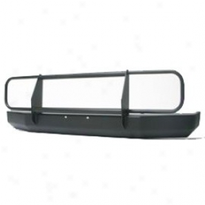 Warrior Front Bumper With Brush Guard