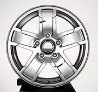 """wheel, 17""""x7.5"""" Chrome Clad W/ Jeep Logo Centee Cap Mopar"""
