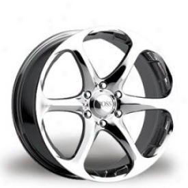 Wheel, Chrome 17x8 Boss