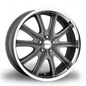 Wheel, Gray 20x10 Boss