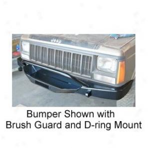 Winch Bumper Upon Brush Guard