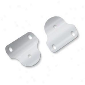 Windshield Hinge Bracmets, Polished Aluminum