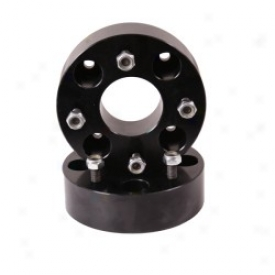 """yamaha Rhino Wheel Spacers 1.75"""", Black, Pair"""
