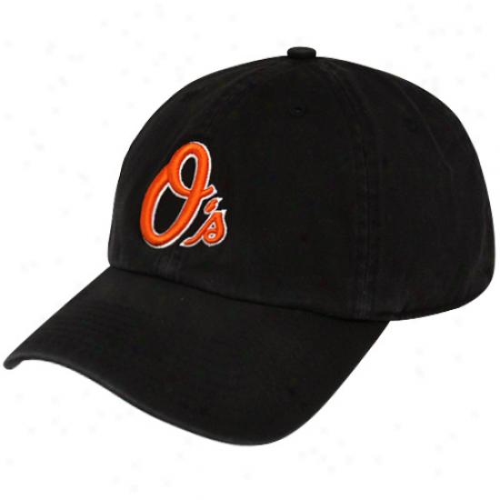 '47 Brand Baltimore Orioles Black Franchise Fitted Hat