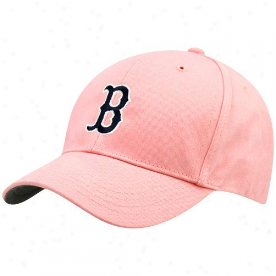 '47 Brand Boston Red Sox Toddler Rose Home Team Logo Adjustable Hat