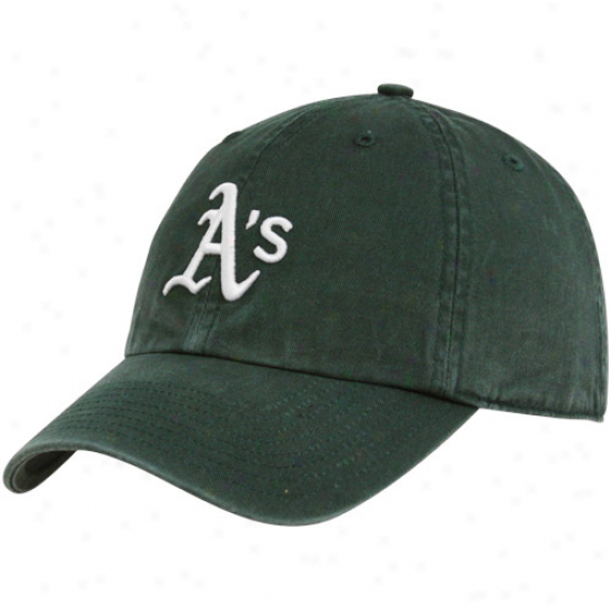 '47 Brand Oakland Athletics Green Franchise Fitted Hat