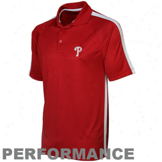 Antigua Philadelphia Phillies Red Revel Performance Polo
