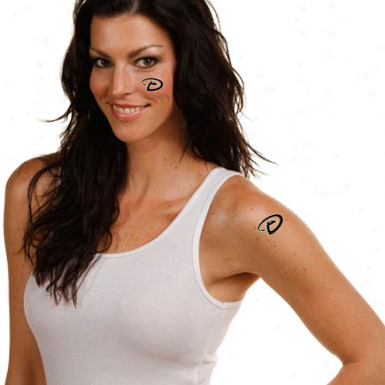 Arizona Diamondbacks 4-pack Temporary Tattoos