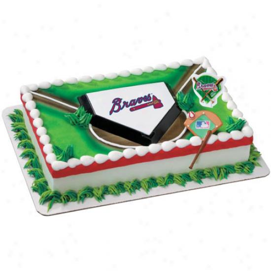 Atlanta Braves Cake Decorating Kit