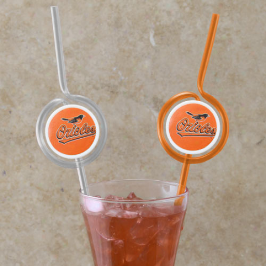 Baltimore Orioles Teeam Sips Straws