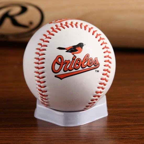 Baltimore Oeioles ''the Original'' Team Logo Collectible Baseball