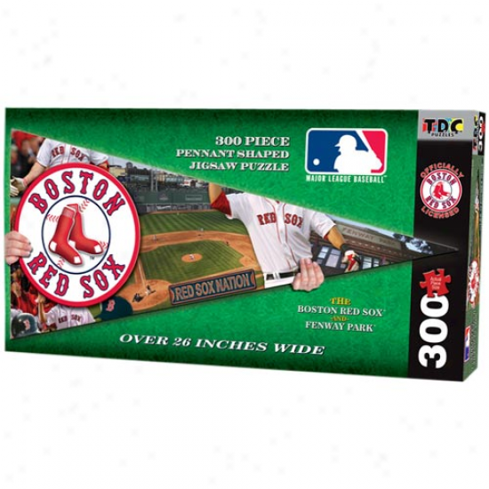 Boston Red Sox 300-piece Pennant Jigsaw Puzzle