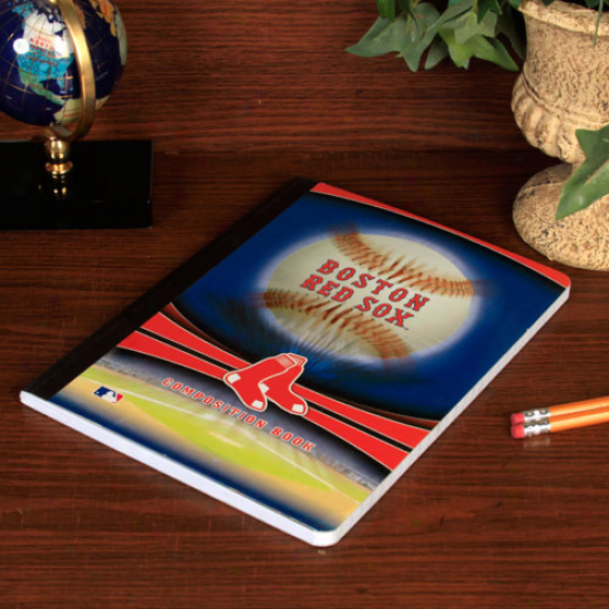 Boston Red Sox Composition Notebook