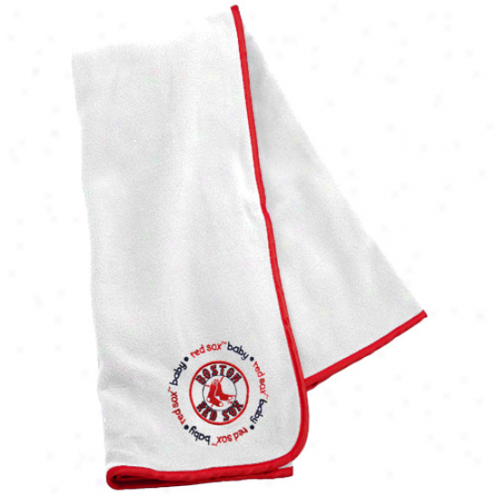 Boston Red Sox Infant Cotton Receiving Blanket