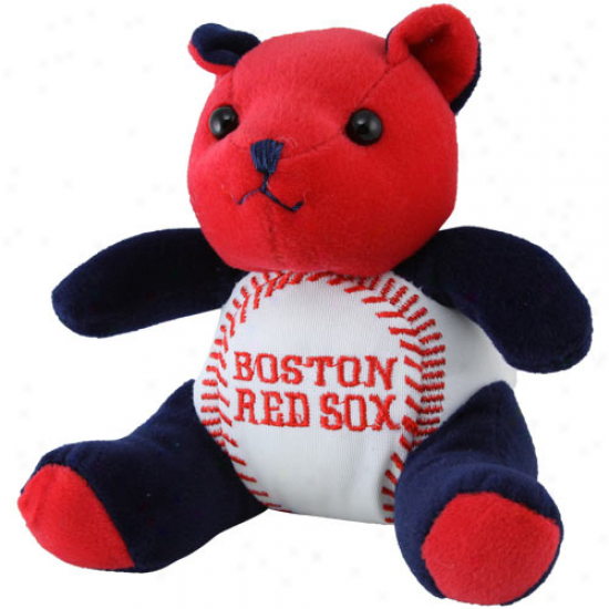 Boston Red Sox Plush Cheering Baseball Bear