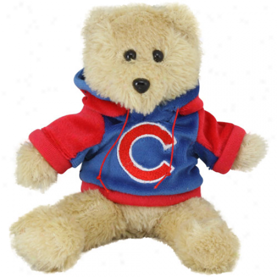 Chicago Cubs 8'' Plush Hoody Tend