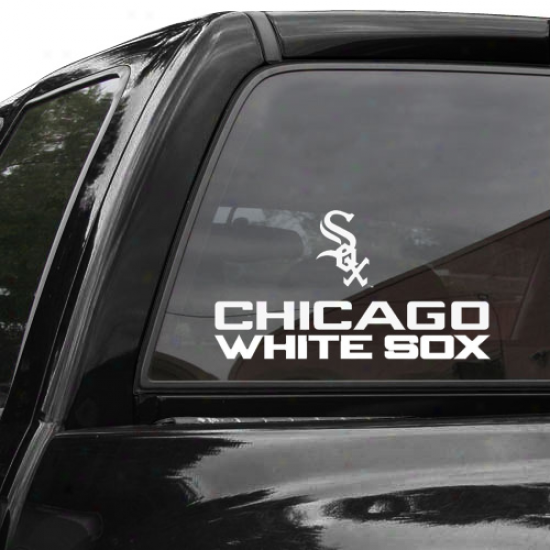 Chicago White Sox 4'' X 17'' Die-cut Decal Strip