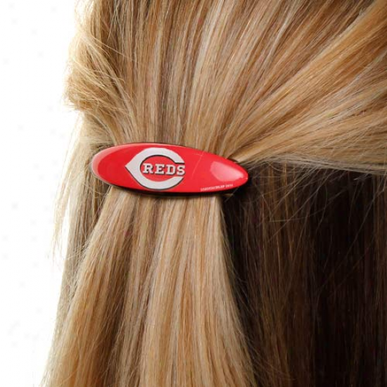 Cincinnati Reds 2-pack Small Barrettes