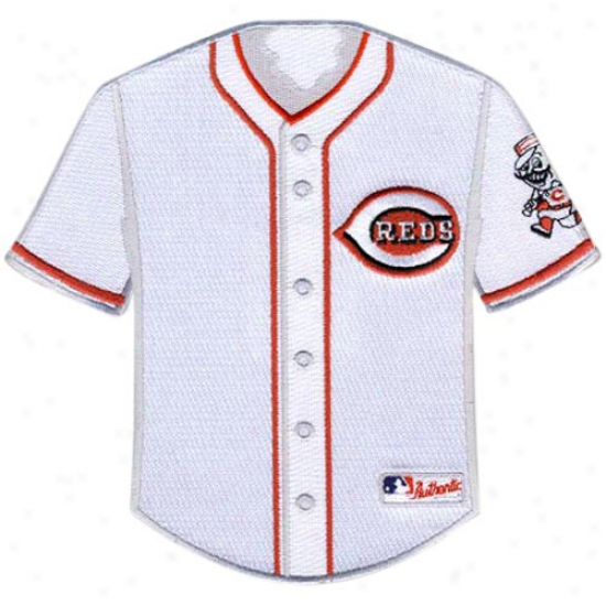 Cincinnati Reds Home Jersey Collectible Patch