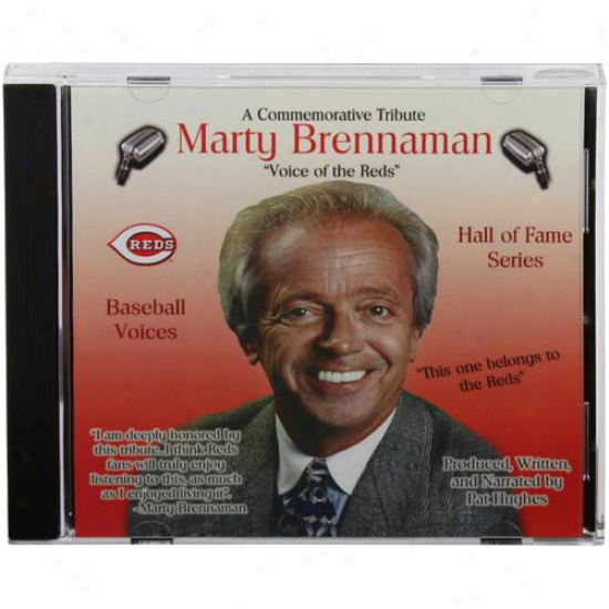 Cincinnati Reds Marty Brennaman ''voice Of The Reds'' Baseball Voices Tribute Cd