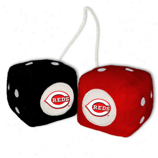 Cincinnati Reds Plush Team Fuzzy Dice