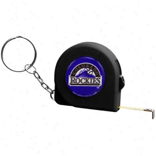 Colorado Rockies 6' Mini Tape Measure Keychain
