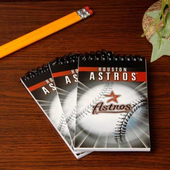 Houston Astros 3-pack Team Memo Pads