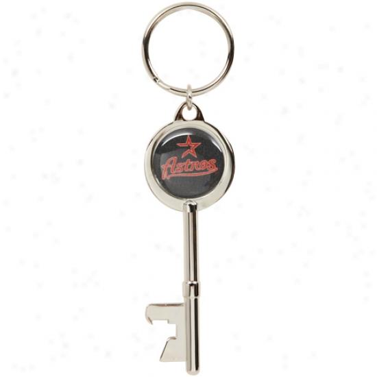 Houston Astros Key Bottle Opener Keychain -
