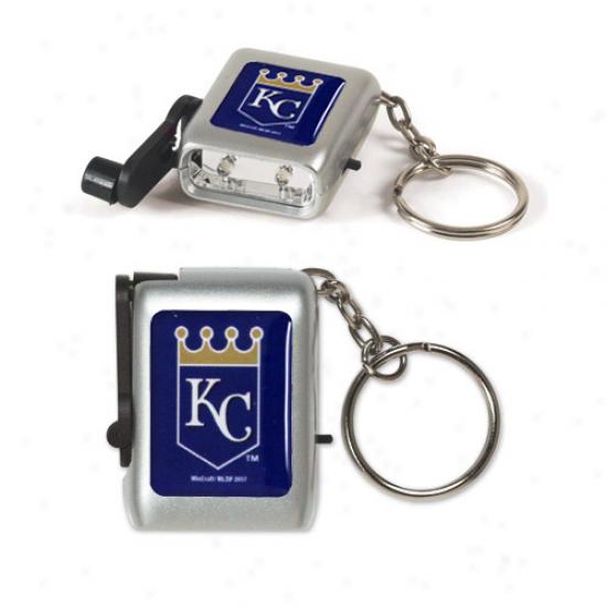 Kansas City Royals Led Eco Light Keychain