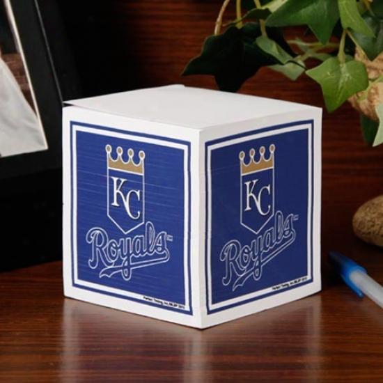 Kansas Cify Royals Note Cube