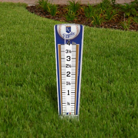Kansas City Royals Rain Gauge