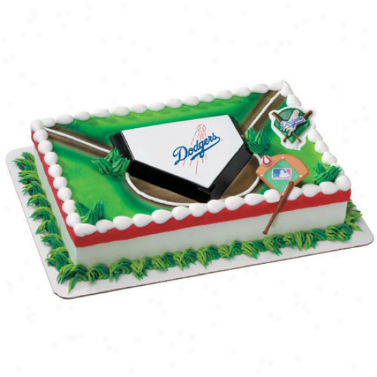 L.a. Dodgers Cake Decorating Kit