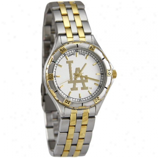 L.a. Dodgers Stainless Steel General Manager Watch