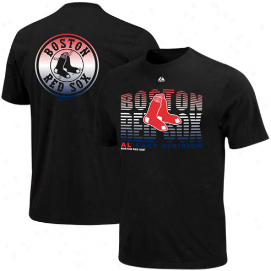 Majestic Boston Red Sox Turn To Victory T-shirt - Black