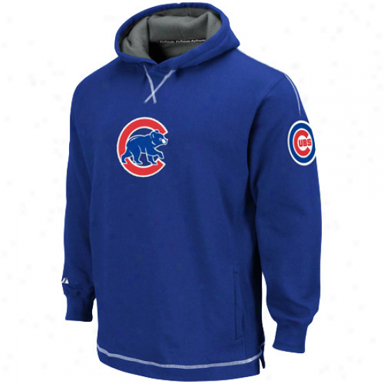 Splendid Chicago Cub sYouth Royal Blue The Liberation Pullover Hoody Sweatshirt