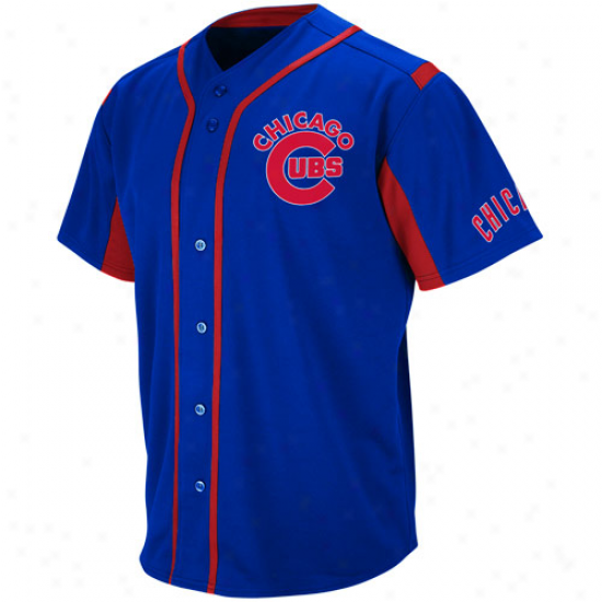 Majestic Chicago Cubs Youth Wind-up Jersey - Royal Blue