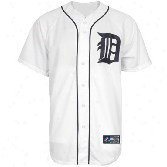 Majestic Detroit Tigers Preschool Autograph copy Jersey - White