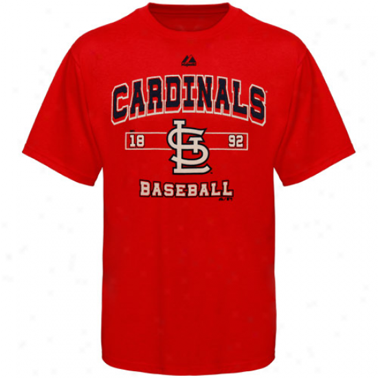 Majestic St. Louis Cardinals Youth Past Time Original T-shirt - Red