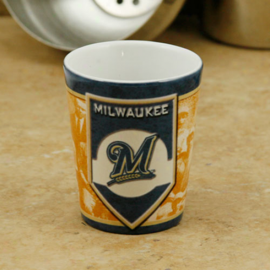 Milwaukee Brewers 2oz. Nostalgic Shot Glass