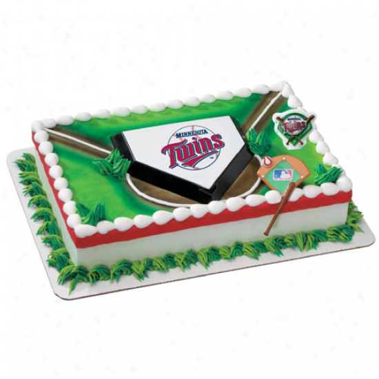 Minnesota Twins Cake Decorating Kit