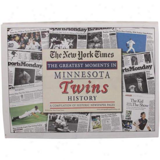 Minnesota Twins Greatest Moments Newspapers