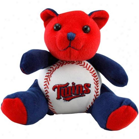 Minnesota Twins Plush Cheering Baseball Bear