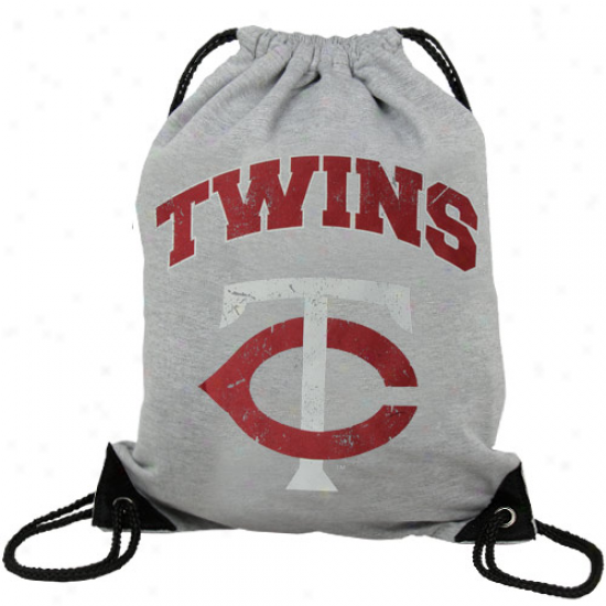 Minnesota Twins Practice Backsack - Ash